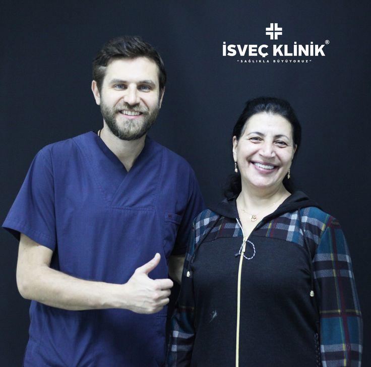 sağlıklı gülümseme için İsveç Klinik #diş #dental #estetik #zirkonyum #implant