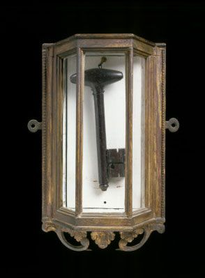 Key to the Bastille, given to Washington by Marquis de Lafayette (1757-1834)