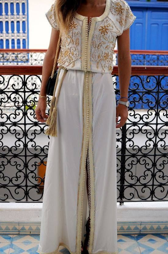 Beautiful dress for our Middle East Trip!