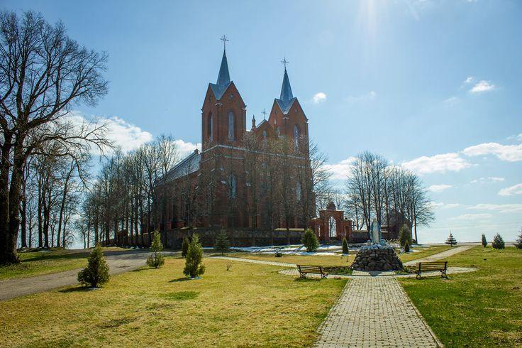 Костёл Пресвятой Девы Марии Ласковой (Беларусь, Viciebskaja voblasć)