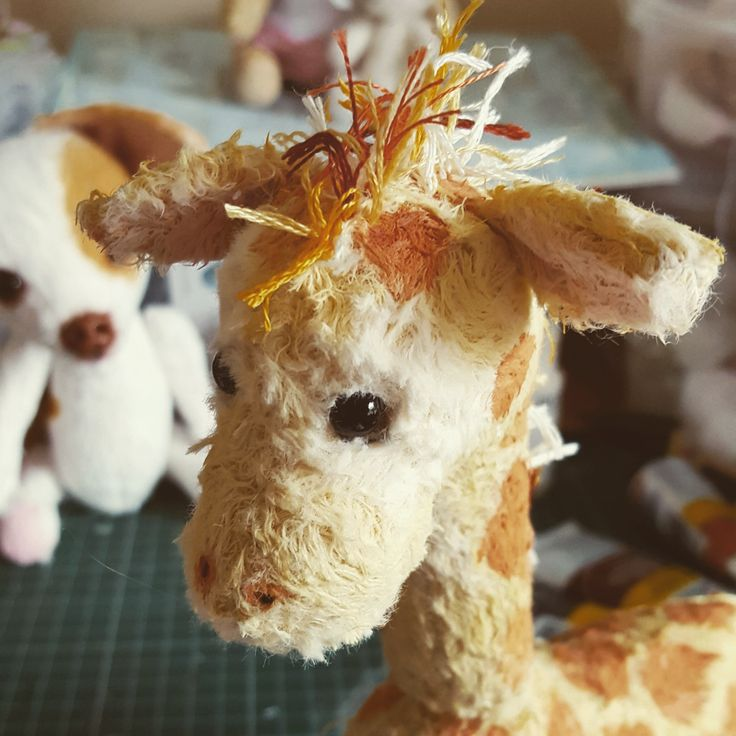 Work in progress..a sweet gal giraffe ❤😊❤