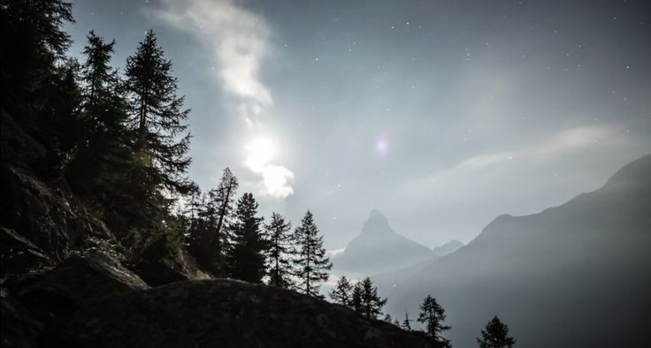 Christian Mülhauser a choisi les montagnes du canton du Valais, en Suisse, pour réaliser ce sublime film