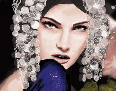 """Check out new work on my @Behance portfolio: """"Kendra and Galliano"""" http://be.net/gallery/34906255/Kendra-and-Galliano"""