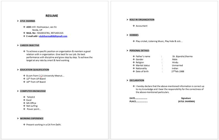 38 best Resume Examples images on Pinterest   Resume examples ...
