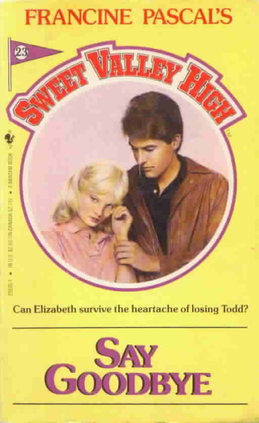 Sweet Valley High books. Read them all!