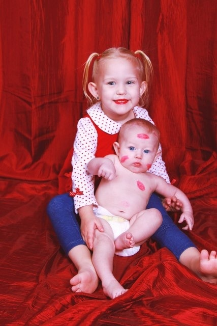 Adorable Brother And Sister Photo For Valentines Day Photos