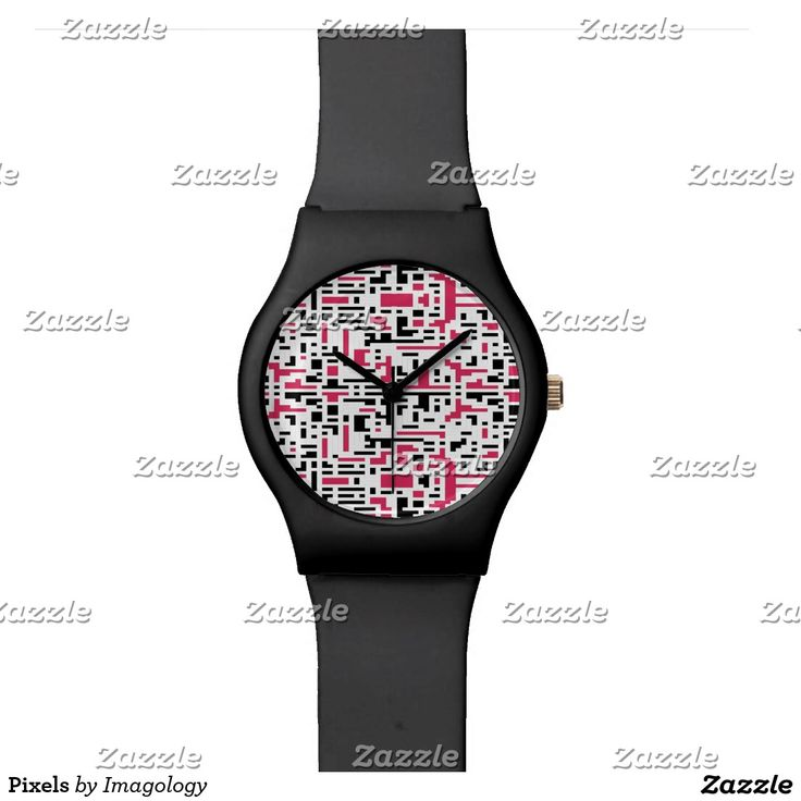 Pixels Wrist Watch
