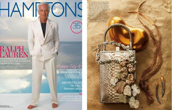 "Jill Haber's ""Sebastian"" featured in Hamptons Magazine #jillhaber #hamptonsmagazine"
