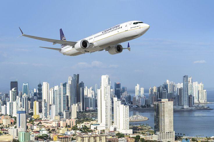 Boeing 737 MAX 10 de Copa Airlines (Panama)
