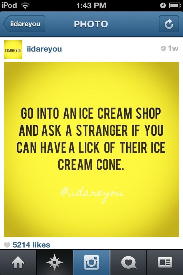 i dare you | Funny Dares | Pinterest | Funny dares