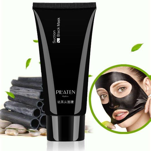 Amazon.com : PILATEN blackhead remover, Tearing style Deep Cleansing purifying peel off the Black head, acne treatment, black mud face…