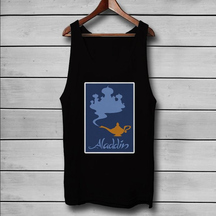 Disney Aladdin Custom Tank Top T-Shirt Men and Woman