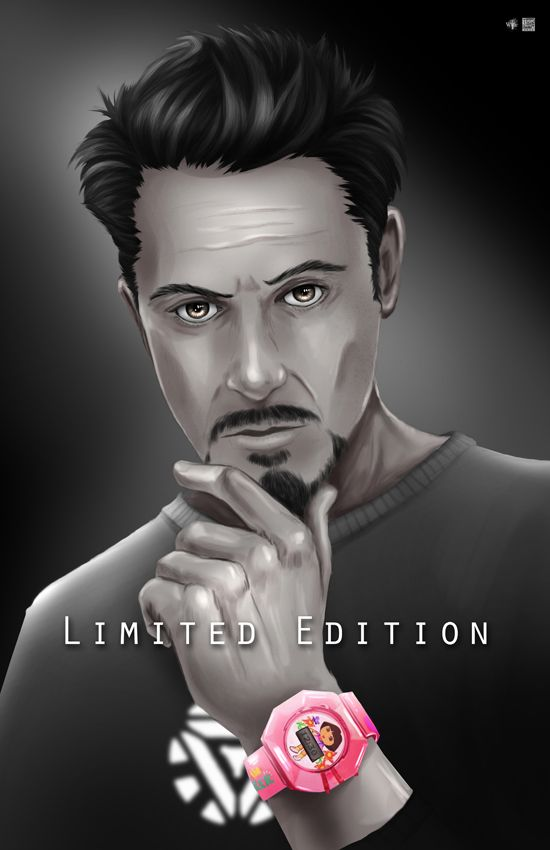 Limited Edition- Tony Stark Endorsed by WiL-Woods on DeviantArt