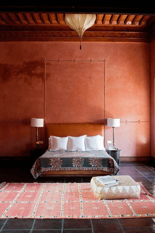 burnt orange hotel interior, pantone potter's clay, cinnamon orange, copper orange                                                                                                                                                                                 More