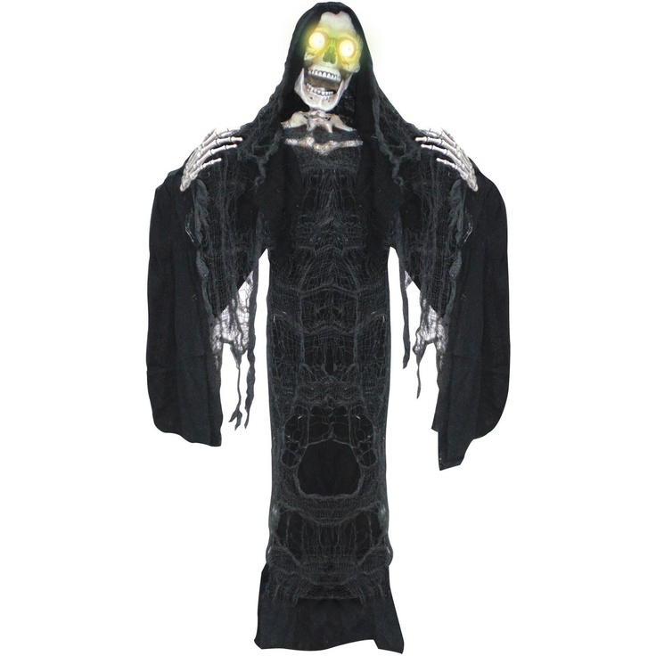 halloween decorations hanging reaper animated prop