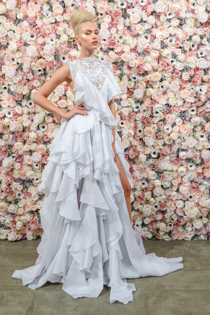 Mejores 1691 imágenes de Bridal Fashion Week en Pinterest | Vestidos ...