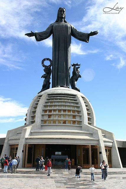 Cristo Rey - Guanajuato MX  © Lay ( Cristo Rey, Cerro del cubilete ) by Francesco Lay M., via Flickr