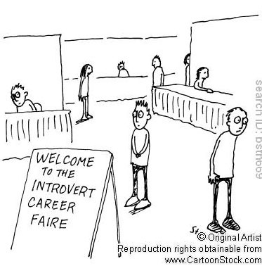 Even if you are an introvert or are not that good at speaking in public, then just fake it - speak up, be confident, and show recruiters why they should hire you!