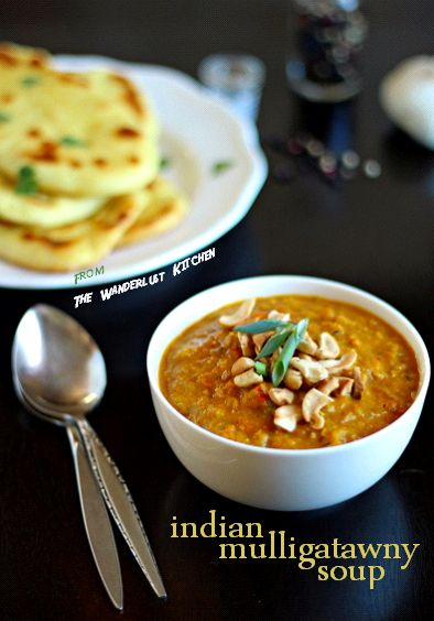 How to make everyone's favorite Indian Buffet Soup - Classic Mulligatawny. Just boil, and blend! From www.TheWanderlustKitchen.com