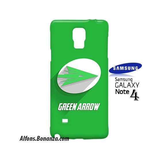 Green Arrow Logo Superhero Samsung Galaxy Note 4 Case