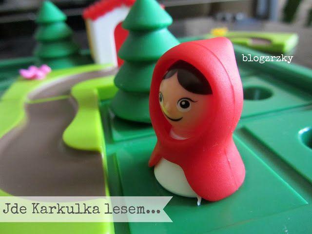 Blog Zrzky: Chytrá hračka / Hlavolamová hra Červená Karkulka