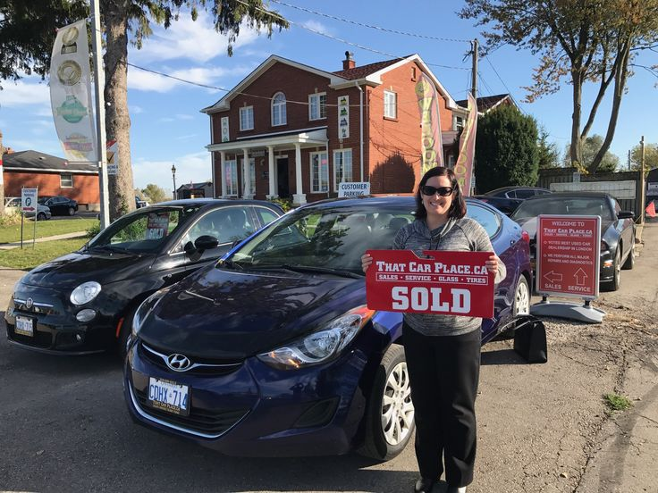 Charlene Hoffman has joined the THAT CAR PLACE FAMILY! Nice new Hyundai Charlene!