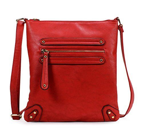 New Trending Cross Body Bags: Scarleton Chic Crossbody Bag H155910 - Red. Scarleton Chic Crossbody Bag H155910 – Red  Special Offer: $12.99  455 Reviews The Scarleton Chic Crossbody Bag is a charming accessory, perfect for the office, shopping or a chic lunch with the girls, spacious and economically priced. This handsome design has lots of storage,...