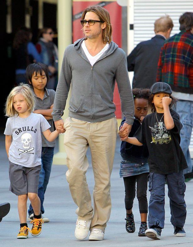 Brad Pitt  Photos ( image hosted by mirror.co.uk )  #BradPittNetWorth #BradPitt #gossipmagazines