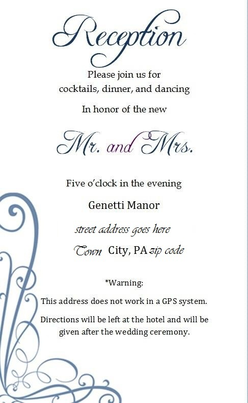 15 best wedding details card images on pinterest invites wedding details card and wedding. Black Bedroom Furniture Sets. Home Design Ideas