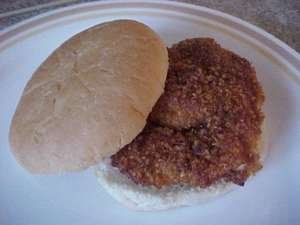 This is my version of the new McDonalds Southern Style Chicken Biscuits that they serve on their breakfast menu