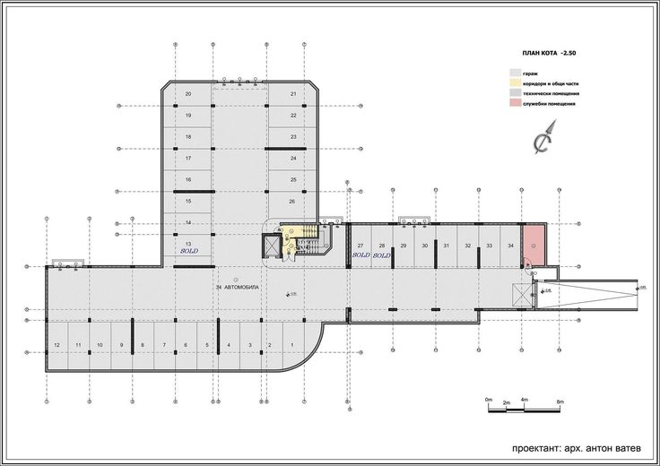 Underground Parking Plan Поиск в Google Garage