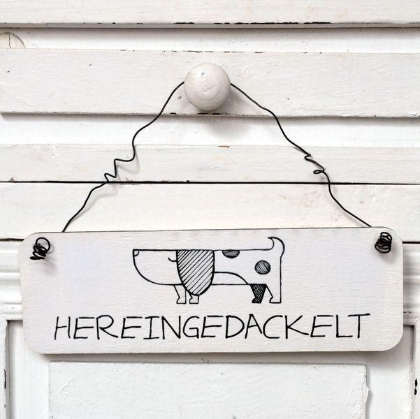 Dekoschild+aus+Holz+HEREINGEDACKELT+von+Shabbyflair-Decorations+auf+DaWanda.com