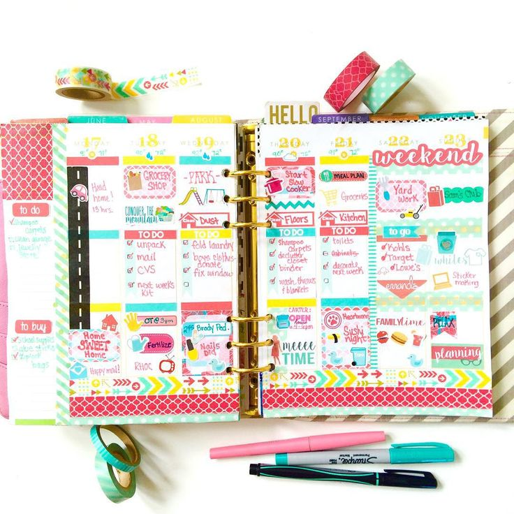 Dynamite image pertaining to cute planners and organizers