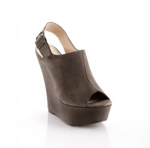 Kbell Slingback Nubuck Gray, $45, now featured on Fab.