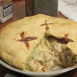 Pot pie met kalkoenvlees @ allrecipes.nl