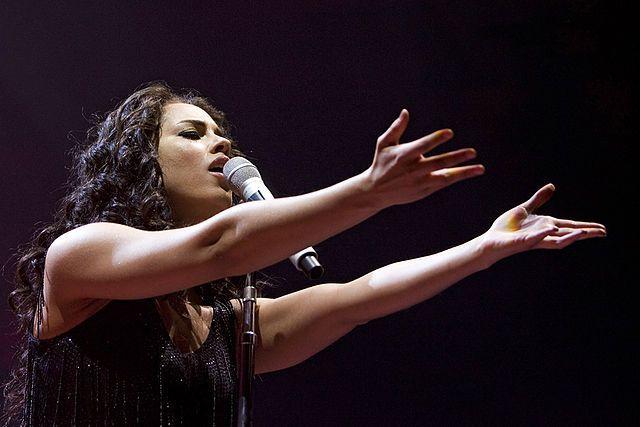 here, its my soul... Alicia Keys...