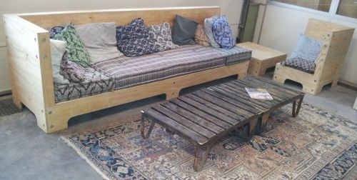 Marrakech Loungecorner from underlayment