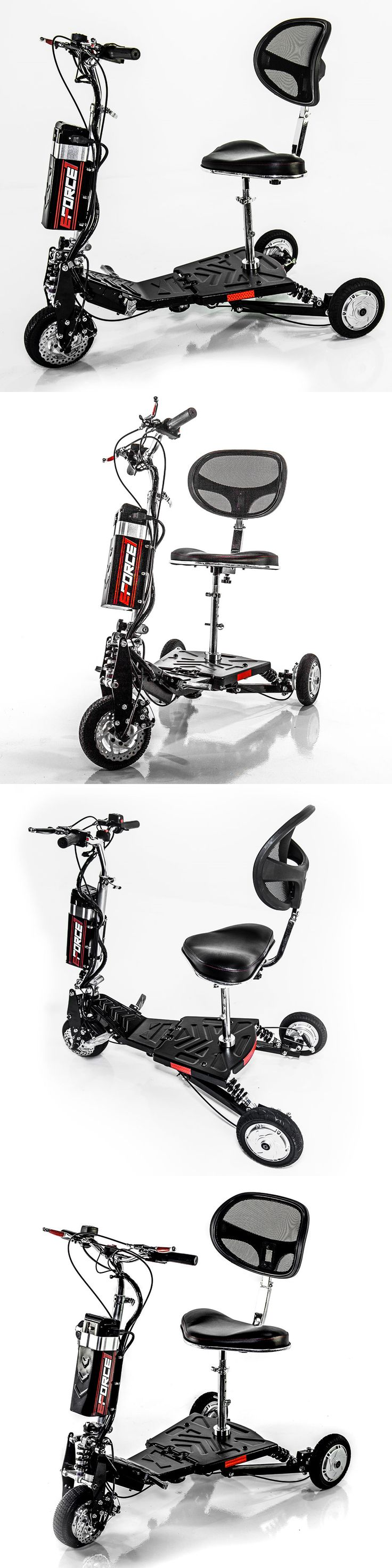 Other Scooters 11329: New Challenger Eforce1 Portable Powerful Recreational Scooter J36v - Speed 12Mph -> BUY IT NOW ONLY: $1695 on eBay!