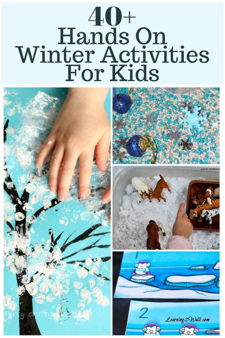 Winter brings with it great opportunities to embrace the cold! If you are looking for a few winter activities for kids that are hands on.