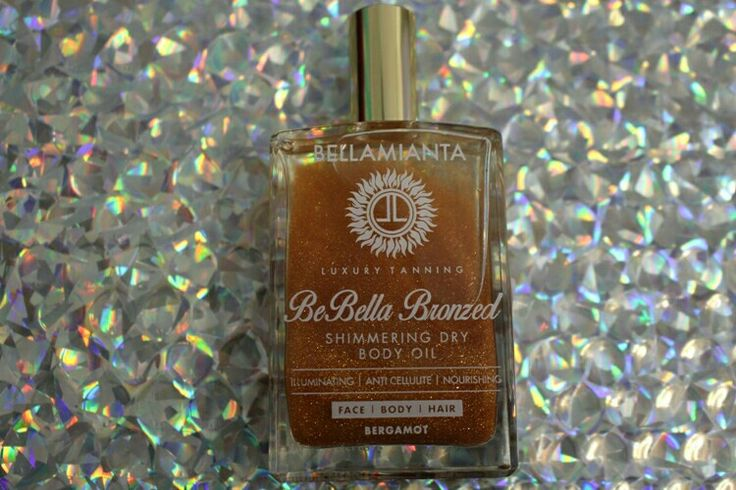 BeBella Shimmering Dry Body Oil from Bellamianta #irishtan #tan #bodyoil #shimmer #bodyglow www.Fayrebeauty.com