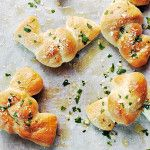 Garlic Parmesan Knots - Seasons and Suppers