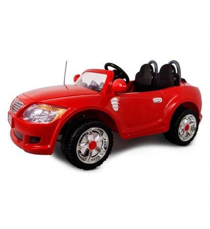 Auto elektryczne dwuosobowe BOOMI czerwone