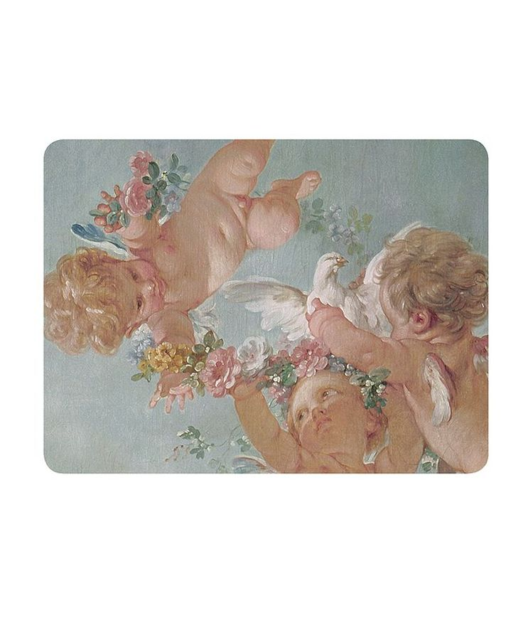 Designed by #Boho #Co using details from #fresco #paintings in the Palais de #Fontainebleau this large #serving #mat is a new addition to our #table #styling