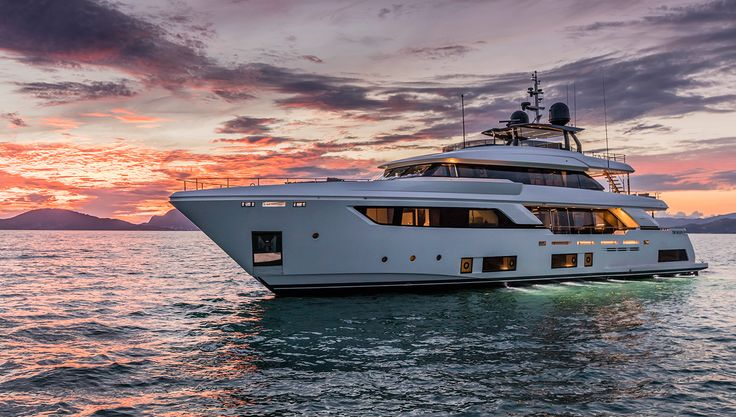 The Navetta 37 yacht features a curvaceous exterior and a bulbous bow that houses a spacious master cabin…