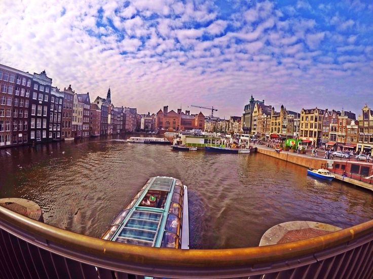 Canal Cruise, Amsterdam
