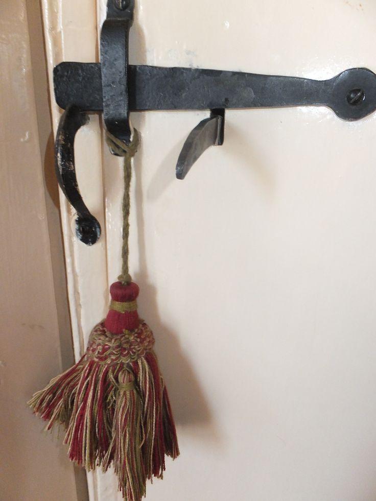 Door furniture - Ye Olde door latch [bespoke, modern] with antique tassel