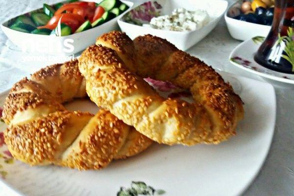 Pastane Usulü Simit Tarifi