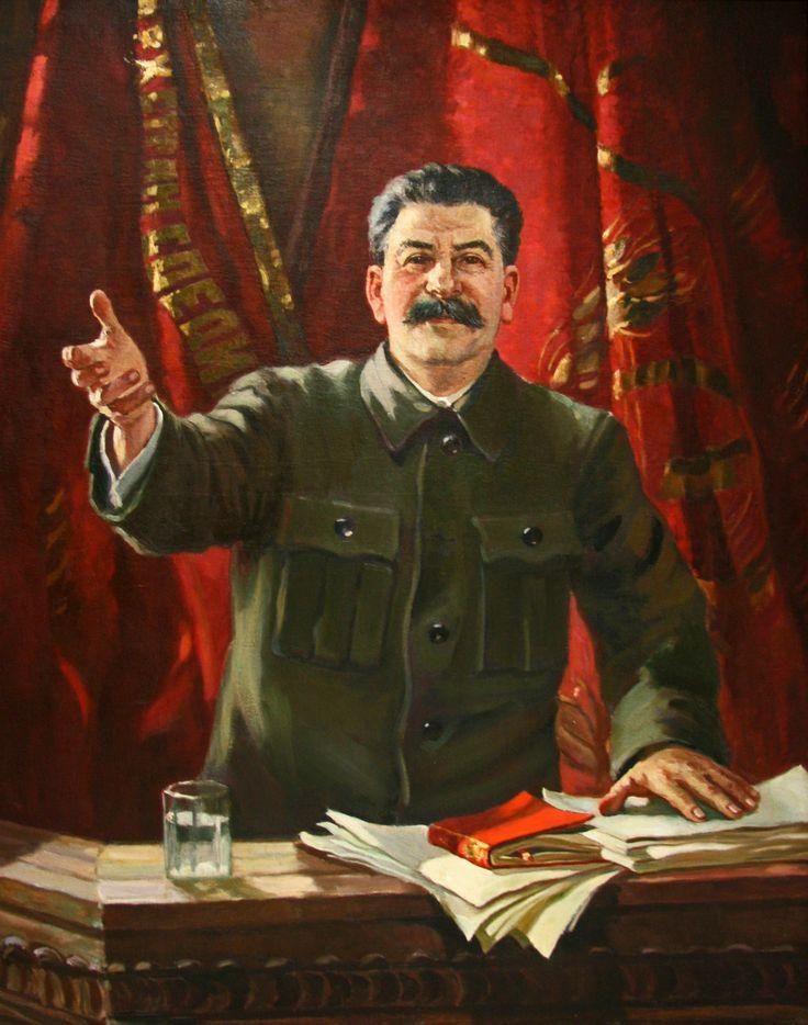 Aleksandr+Gerasimov+-+Stalin+at+the+18th+Party+Congress+1939.jpg 1,260×1,600 pixels