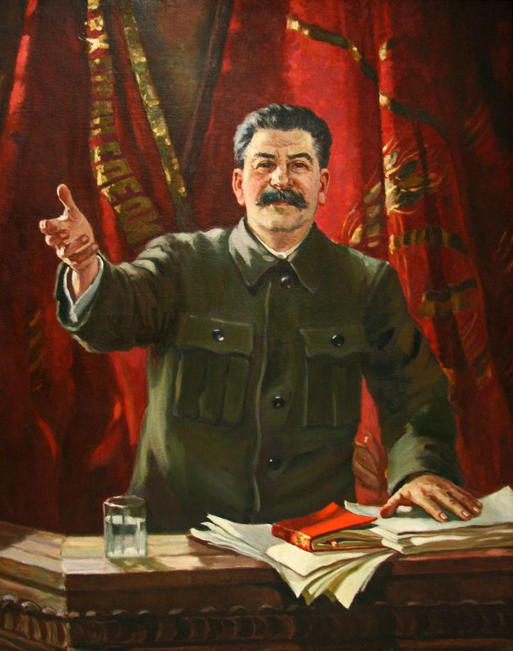 Aleksandr+Gerasimov+-+Stalin+at+the+18th+Party+Congress+1939.jpg 1,260×1,600 pixels