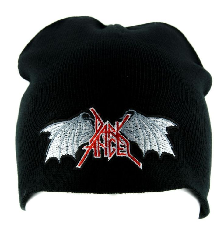 Dark Angel Thrash Metal Beanie Alternative Clothing Knit Cap Heavy Music  #gothrock #punkfashion #goths #metalchick #rockabilly #tradgoth #rivethead #darkgirl #alternativeclothing #gothicrock